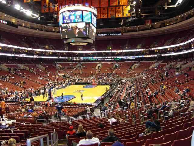 Philadelphia 76ers Lower Seats