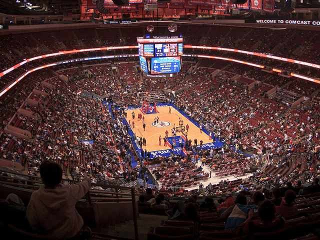 Philadelphia 76ers Upper Seats